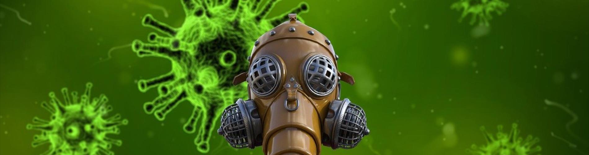 Koronawirus atakuje, ratunek i profesjonalna dezynfekcja, odkażanie miejsc publicznych.